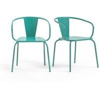 Oblice metal garden chair (set of 2)