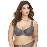 Balconette Bra with Lace Details