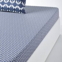 HALONG Graphic Print Cotton Fitted Sheet