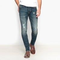 Cotton Mix Straight Leg Regular Fit Jeans 28.5