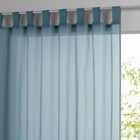 Limpo Voile Panel with Tab Top