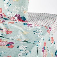 Miss Shanghai Flat Sheet in Printed Cotton