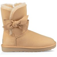 Daelynn Leather Ankle Boots with Sheepskin Lining