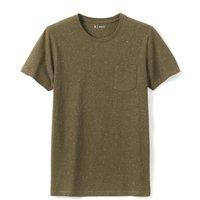 Crew Neck Cotton Mix T-Shirt