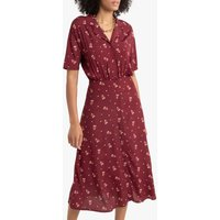 shop for Floral Midaxi Shirt Dress at Shopo