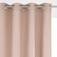 Barica Linen Single Curtain with Eyelet Header
