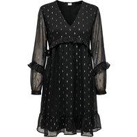 shop for Ruffled Mini Dress with V-Neck at Shopo