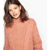 Chunky Knit Jumper with Bobbles