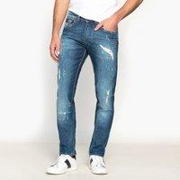 Cotton MixStraight Leg Regular Fit Jeans