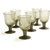 HAMA Stemmed Wine Glasses (Set of 6)