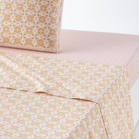 Gardenia Flat Sheet in Pure Cotton