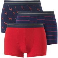 Pack of 3 Stretch Cotton Shorties
