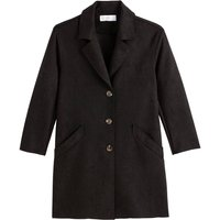 Lightweight Faux Suede Coat