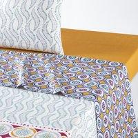 Yalinga Printed Cotton Flat Sheet