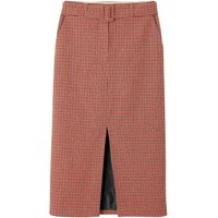 shop for Straight Houndstooth Check Midaxi Skirt at Shopo