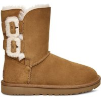 Classic Bailey Fluff Buckle 2 Nubuck Ankle Boots