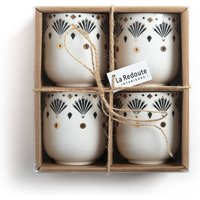 Mellah Set of 4 Espresso Mugs