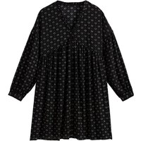 shop for Printed Mini Dress with Long Sleeves at Shopo