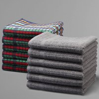 Set of 6 Absorbent and Hardwearing Tea Towels