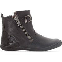 Cameron Leather Ankle Boots