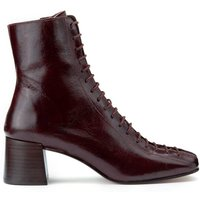 Adela Aged Leather Lace-Up Boots