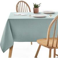Plain Coated Cotton Tablecloth