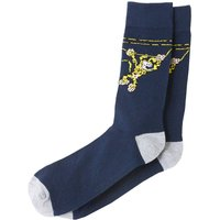 Pack of 2 Pairs of Printed Ankle Socks