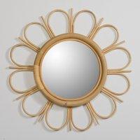 Yasu Rattan Mirror
