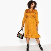 shop for Jacquard Midi Shirt Dress at Shopo