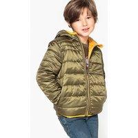 Reversible Hooded Padded Jacket, 3-12 Years