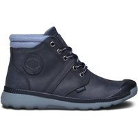 74451 Palavil Mid Cuf F Leather High-Top Trainers