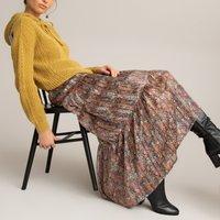 shop for Floral Print Maxi Skirt at Shopo