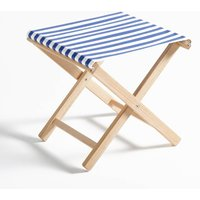 Dovil Striped Folding Stool