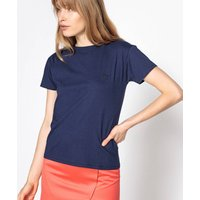 Short-Sleeved Crew Neck T-Shirt with Logo