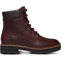 Stivali bordò donna Boots pelle London Square 6 In BO 4c204dec9d5