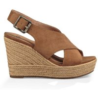 Harlow Leather Wedge Sandals
