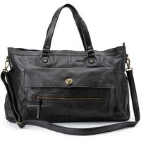 Totally Royal Leather Handbag