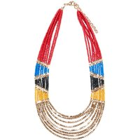 Tribal-Inspired Beaded Necklace