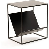 Hiba End Table with Magazine Rack