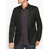 Slim Fit Single-Breasted Suit Jacket