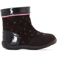 Bigaro Star Detail Ankle Boots