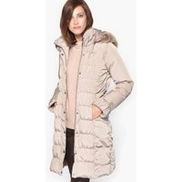 Padded Down Duvet Jacket with Water-Repellent and Stain-Resistant Treatment
