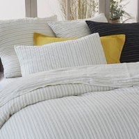 Uzes Washed Linen Printed Duvet Cover