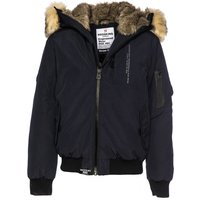 Hooded Jacket with Faux Fur Trim Hood, 10-16 Years