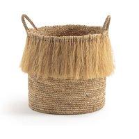 ATHOS Tall Raffia Storage Basket