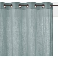 Onega Washed Linen Single Curtain with Eyelets