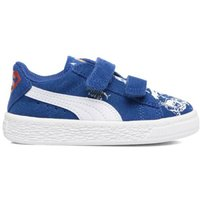 Kids Suede Superman Street V Inf Touch 'n' Close Trainers