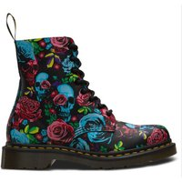 1460 Pascal Rose Fantasy Leather Ankle Boots