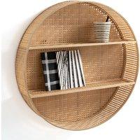 Hadga Round Bamboo Shelf.