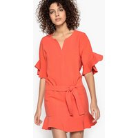 Calliste Ruffled Mini Dress